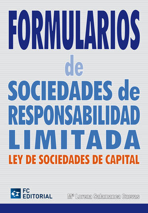 FORMULARIOS DE SOCIEDADES DE RESPONSABILIDAD LIMITADA