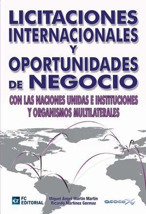 LICITACIONES INTERNACIONALES Y OPORTUNIDADES DE NEGOCIO