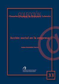 ACCIÓN SOCIAL EN LA EMPRESA