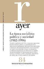 EPOCA SOCIALISTA (1982-1996), LA POLITICA Y SOCIEDAD