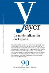 LA NACIONALIZACIÓN EN ESPAÑA AYER 90