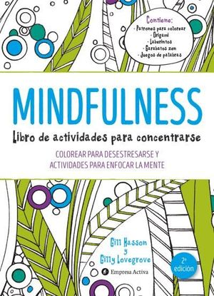 MINDFULNESS. LIBRO DE ACTIVIDADES PARA CONCENTRARSE