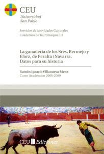 LA GANADERÍA DE LOS SRES. BERMEJO Y ELORZ, DE PERALTA (NAVARRA)