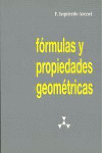 FÓRMULAS Y PROPIEDADES GEOMÉTRICAS