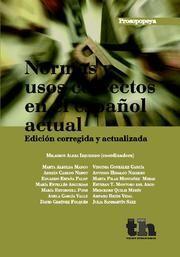 NORMAS Y USOS CORRECTOS EN EL ESPAÑOL ACTUAL