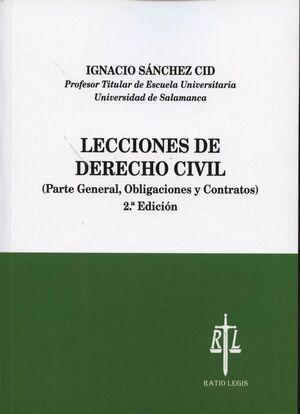 LECCIONES DE DERECHO CIVIL PARTE GENERAL, OBLIGACIONES Y CONTRATOS