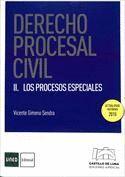 DERECHO PROCESAL CIVIL II. LOS PROCESOS ESPECIALES