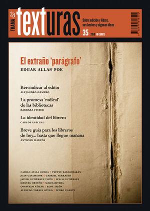 TEXTURAS 35: LA IDENTIDAD DEL LIBRERO