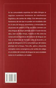 LENGUAS EN CONTACTO. CONSECUENCIAS LINGUISTICAS