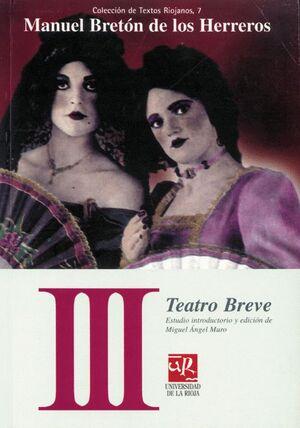 TEATRO BREVE III