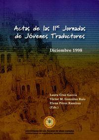 ACTAS DE LAS II JORNADAS DE JÓVENES TRADUCTORES