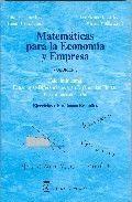 MATEMÁTICAS PARA LA ECONOMÍA Y EMPRESA: VOLUMEN 3, CÁLCULO INTEGRAL, ECUACIONES DIFERENCIALES Y EN DIFERENCIAS FINITAS: PROGRAMACIÓN LINEAL; EJERCICIO