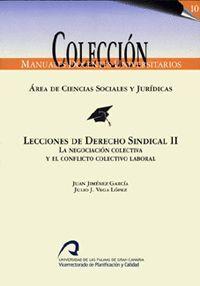 LECCIONES DE DERECHO SINDICAL II