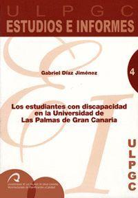 LOS ESTUDIANTES CON DISCAPACIDAD EN LA UNIVERSIDAD DE LAS PALMAS DE GRAN CANARIA