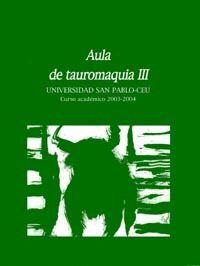 AULA DE TAUROMAQUIA Nº 3