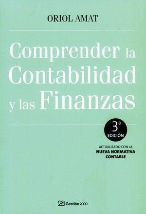 COMPRENDER LA CONTABILIDAD Y LAS FINANZAS