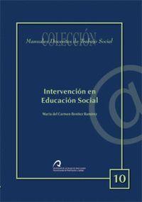 INTERVENCIÓN EN EDUCACIÓN SOCIAL