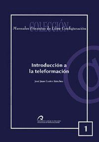 INTRODUCCIÓN A LA TELEFORMACIÓN