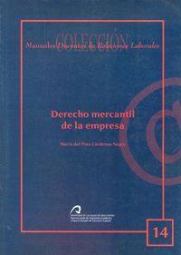 DERECHO MERCANTIL DE LA EMPRESA