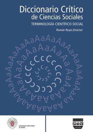 DICCIONARIO CRÍTICO DE CIENCIAS SOCIALES VOL. 3