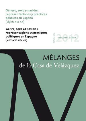 GÉNERO, SEXO Y NACIÓN: REPRESENTACIONES Y PRÁCTICAS POLÍTICAS EN ESPAÑA (SIGLOS XIX-XX)