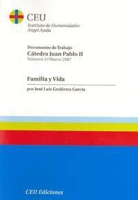 FAMILIA Y VIDA