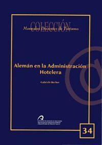 ALEMÁN EN LA ADMINISTRACIÓN HOTELERA