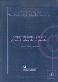 ORGANIZACIÓN Y GESTIÓN DE ENTIDADES DE SEGURIDAD