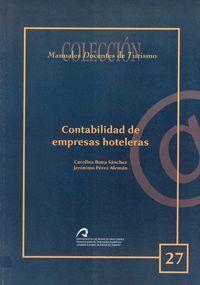 CONTABILIDAD DE EMPRESAS HOTELERAS