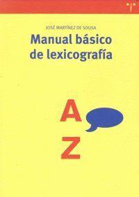 MANUAL BÁSICO DE LEXICOGRAFÍA