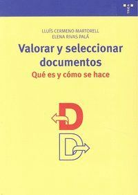 VALORAR Y SELECCIONAR DOCUMENTOS