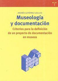 MUSEOLOGÍA Y DOCUMENTACIÓN