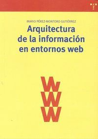 ARQUITECTURA DE LA INFORMACIÓN EN ENTORNOS WEB
