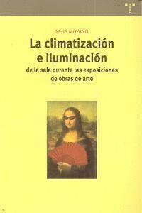 LA CLIMATIZACIÓN E ILUMINACIÓN DE LA SALA DURANTE LA EXPOSICIÓN DE OBRAS DE ARTE