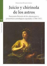 JUICIO Y CHIRINOLA DE LOS ASTROS