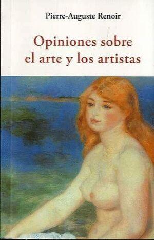 OPINIONES SOBRE EL ARTE Y LOS ARTISTAS
