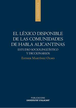 EL LÉXICO DISPONIBLE DE LAS COMUNIDADES DE HABLA ALICANTINAS