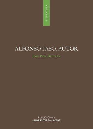 ALFONSO PASO, AUTOR