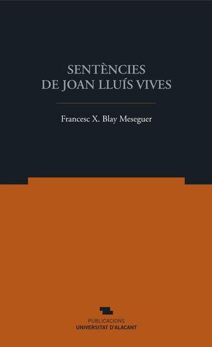 SENTÈNCIES DE JOAN LLUÍS VIVES