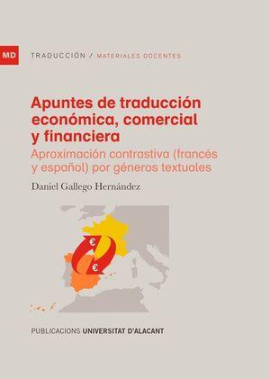APUNTES DE TRADUCCIÓN ECONÓMICA, COMERCIAL Y FINANCIERA