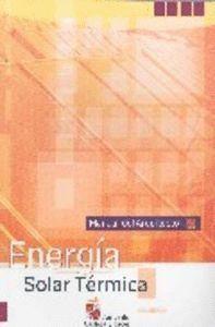 ENERGA SOLAR TÉRMICA MANUAL DEL ARQUITECTO