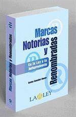 MARCAS NOTORIAS Y RENOMBRADAS