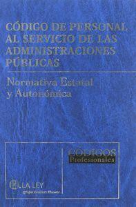 CÓDIGO DE PERSONAL AL SERVICIO DE LAS ADMINISTRACIONES PÚBLICAS