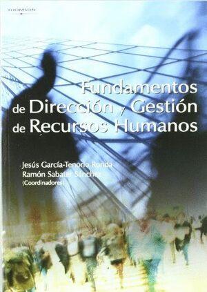 FUNDAMENTOS DE DIRECCIÓN Y GESTIÓN DE RECURSOS HUMANOS