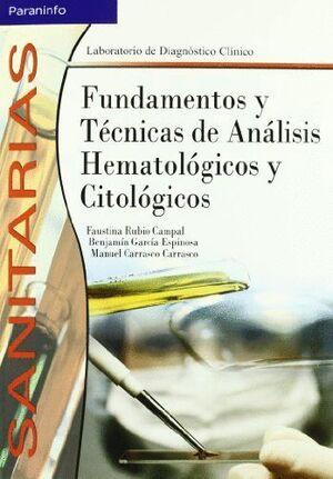 FUNDAMENTOS Y TÉCNICAS ANÁLISIS HEMATOLÓGICOS Y CITOLÓGICOS