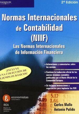 NORMAS INTERNACIONALES DE CONTABILIDAD (NIIF)