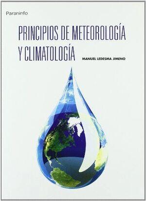 PRINCIPIOS DE METEOROLOGÍA Y CLIMATOLOGÍA.