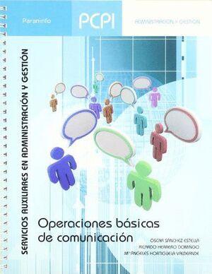 PCPI. OPERACIONES BÁSICAS DE COMUNICACIÓN