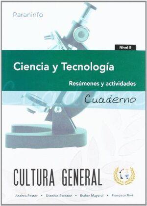 CUADERNO DE TRABAJO. CIENCIA Y TECNOLOGÍA. NIVEL 2