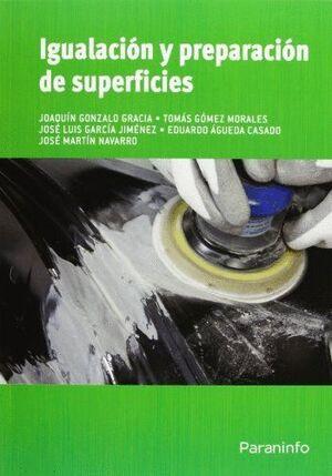 IGUALACIÓN Y PREPARACIÓN DE SUPERFICIES